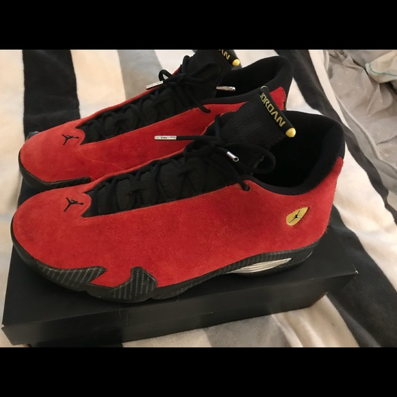 innovative design e000c 50410 Jordan Retro 14s ~ Ferrari